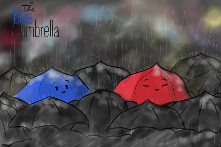 皮克斯动画短片《蓝雨伞之恋(The Blue Umbrella)》