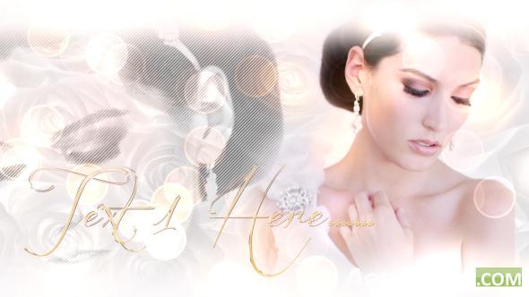 婚礼电子相册模板美丽的新娘-Beautiful Bride