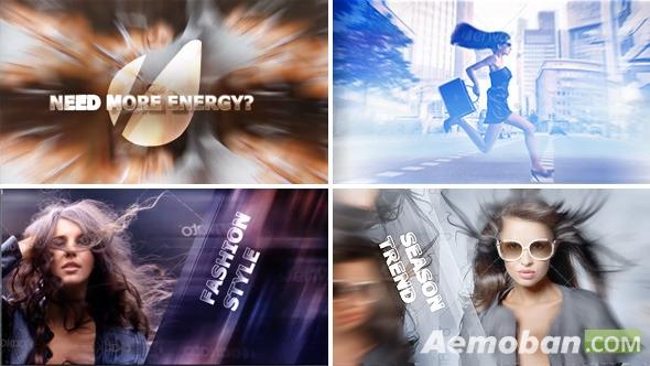 快节奏相片展示电视包装模板-Eye-Catching Volume 1: Energy