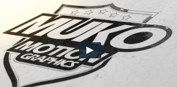 油墨绘制标志演绎片头Draw And Ink Logo