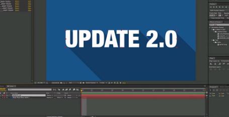 AE长阴影动画投影脚本预设Long Shadows preset 2.0