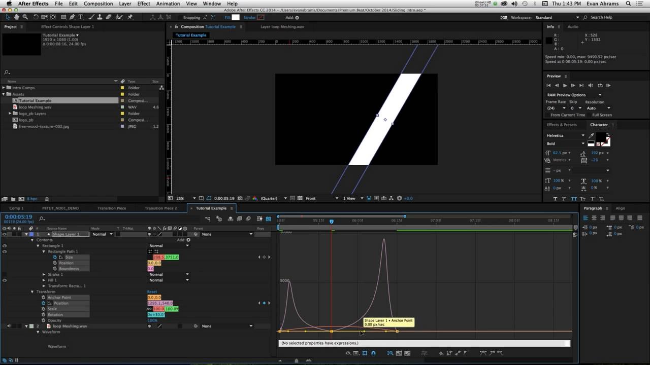 MG平面图形动画效果制作(形状层和MASK应用)